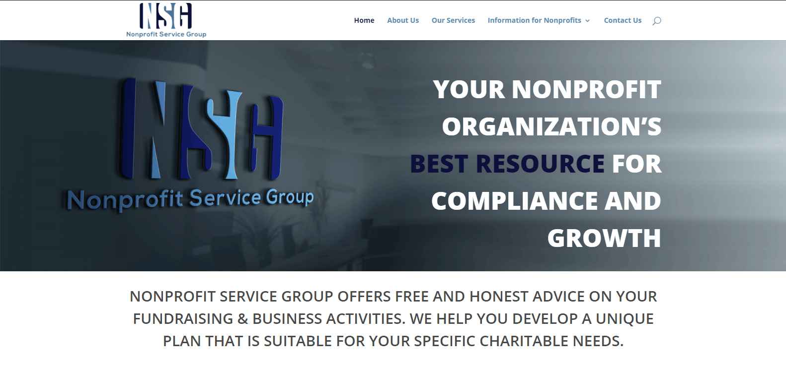 Nonprofit Service Group   Compliance and Growth Resources